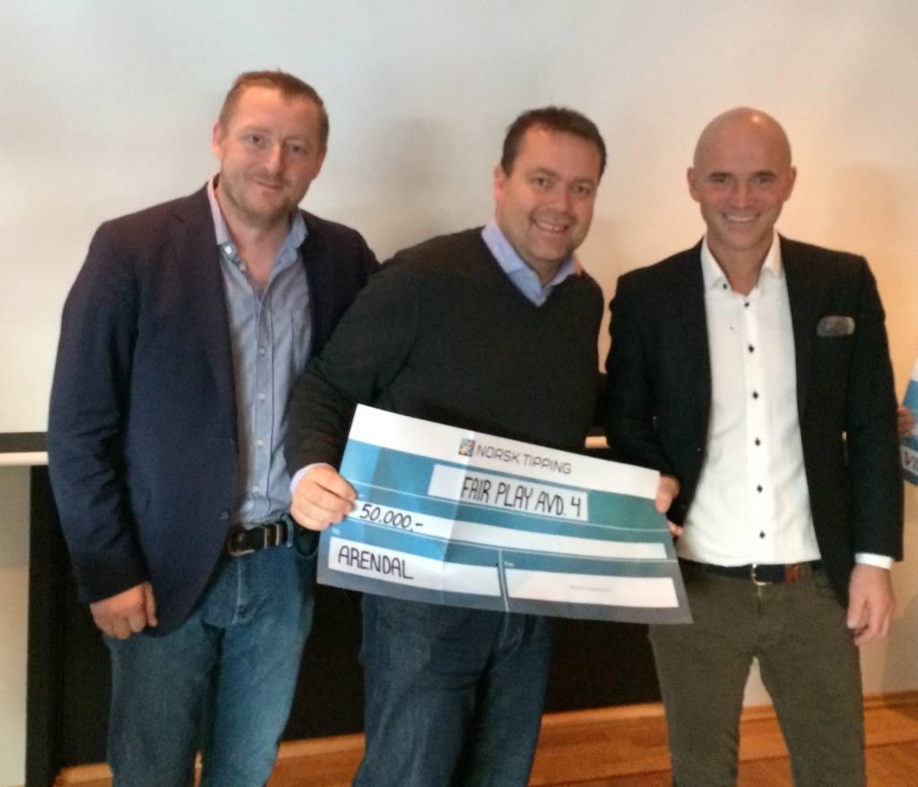 Vinnere Fair-play prisen 2016 avdeling 3, Arendal FK